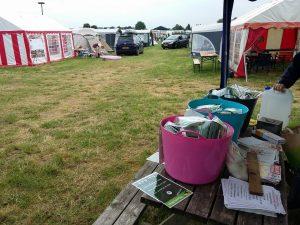wandelwol, camping, Nijmegen, antidrukwol, blaren, pijn, voeten, velden, caravan, tenten, saamhorigheid